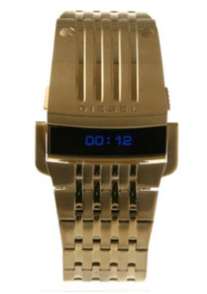 Mens Gold Diesel Watch DZ7112