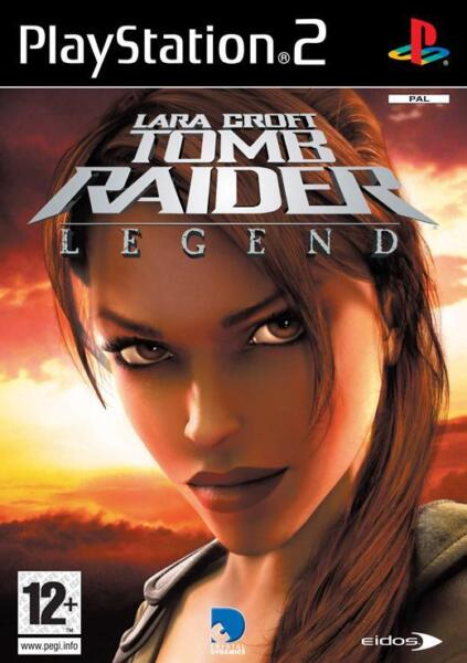 lara croft tomb raider:legend - gra na PS2
