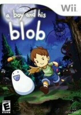 A Boy and His Blob (Nintendo Wii, 2009) - Replacement COVER ART & MANUAL ONLY