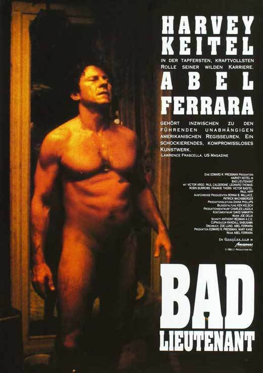 BAD LIEUTENANT Movie POSTER 27x40 Harvey Keitel Brian McElroy Frankie Acciario