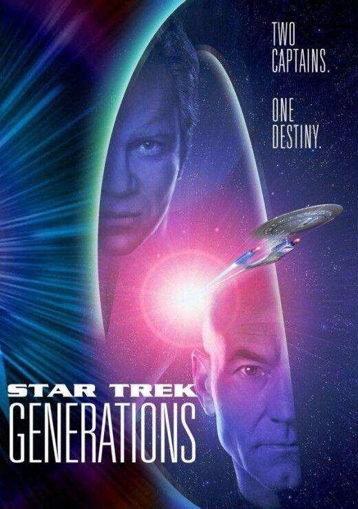 STAR TREK GENERATIONS 2 Captains NEW DVD Box - FREE Post - mmoetwil@hotmail.com