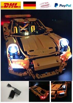 LED Licht Light KIT für LEGO Porsche 911 GT3 RS 42056 inkl. USB Box  (Usb Lego)