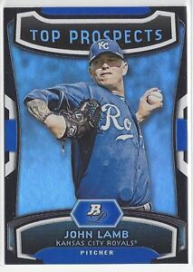 2012 Bowman Platinum #TP-JL John Lamb Top Prospects