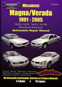 mitsubishi attrage 1991 1995 service and repair manual