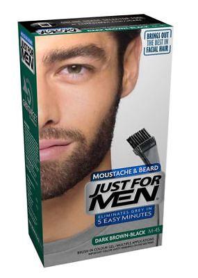 Just For Men Colour Dye Gel Moustache and Beard - 1 Pack