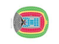 Taylor Swift Reputation Tour x2 tickets Wembley Stadium Saturday 23rd June 2018