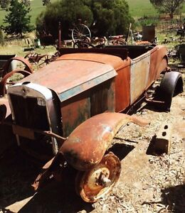 1930 Chev Chevy Chevrolet Roadster for Vintage Car Restoration Truro Mid Murray Preview