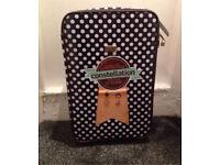 """Constellation 24"""" Polka Dot Oil Suitcase, Waterproof BNWT, RRP £50"""