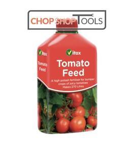 Vitax Tomato Feed Liquid Food Fertiliser High Potash For Bumper Crop VTX5LT1