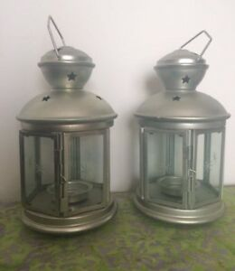 2 Ikea Candle Lanterns (indoor/outdoor)
