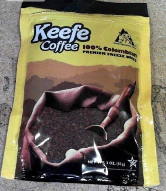 Keefe Colombian Instant Coffee, New