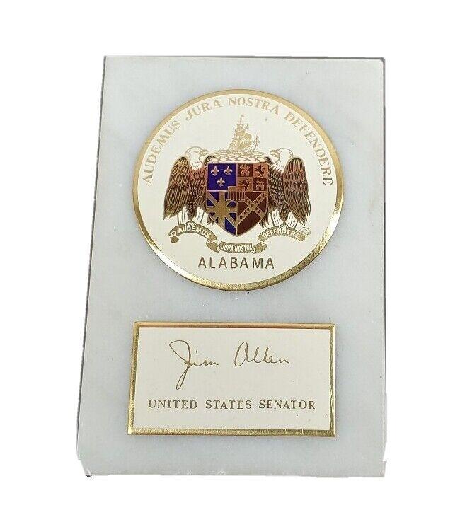 United States Senator Paperweight Jim Allen Alabama