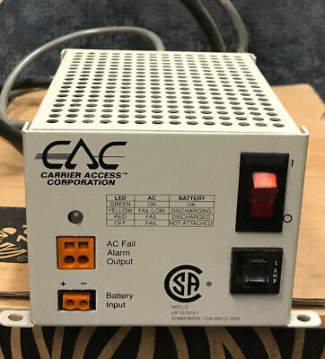 Carrier Access Cac 003-0116 Power Supplybattery Charger Output 48vdc