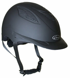 NEW LAMI-CELL CONTENDER RIDING HELMET LARGE NAVY