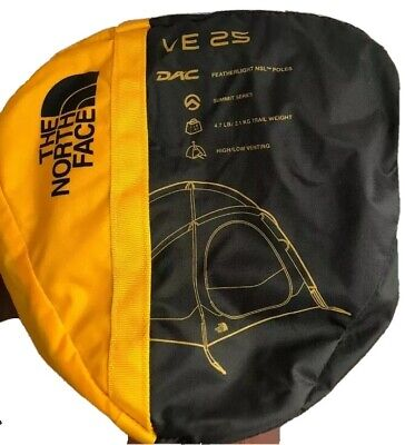 The North Face VE25 3 Person Tent Summit Series Gold NEW