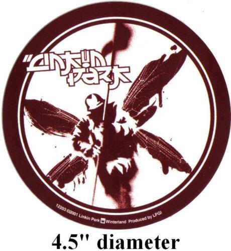 "Vintage 2001 Linkin Park Hybrid Theory Waterproof Vinyl Bumper Sticker 4.5"" New"