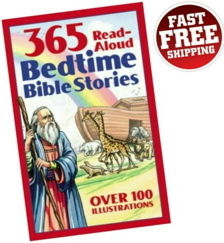 Bedtime Bible Stories For Kids Children Read Aloud Story Book 365 Illustrated