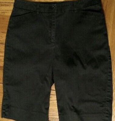 Anne Klein Sport Black Shorts ~ Size 6