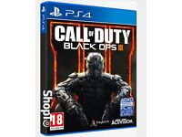 BLACK OPS 3 GAME PS4 FOR SALE