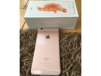 iPhone 6s Plus rose gold for sale/ swap with S7 edge