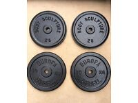 44kg CAST IRON WEIGHT PLATES
