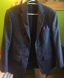 New Haggar. navy blue mens suit. Peterborough Peterborough Area image 2