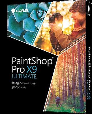 Corel Paintshop Pro X9 Ultimate - Brand Retail Box Pspx9u...