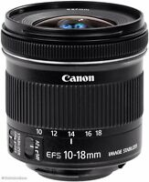 Canon EF-S 10-18mm f/3.5 IS STM Lens Under warranty