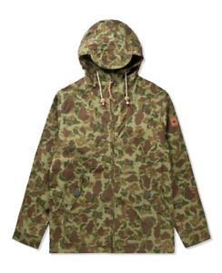 Penfield Gibson Hooded Jacket (Duck Camo) Small