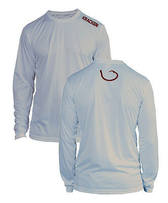 Gray Long Sleeve Shirt - Microfiber Long Sleeve Fishing Shirt UPF 50 GREY Florida State FSU Colors