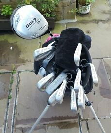 Golf Clubs, Bag & Loads of Golf Balls & Tees - Good Condition