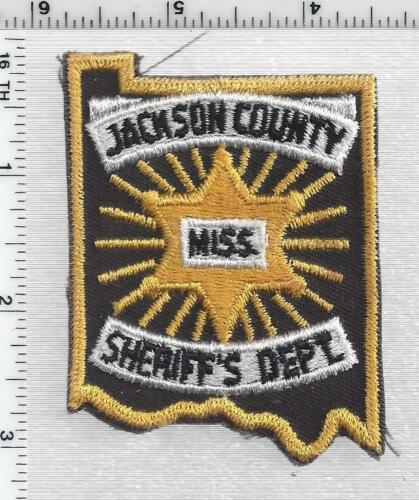 Jackson County Sheriff (Mississippi) 1st Issue Cap/Hat Patch