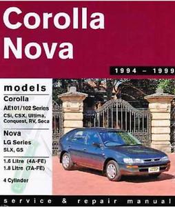 Toyota Corolla workshop manual Albion Park Shellharbour Area Preview