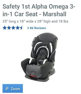 Safety First Alpha Omega 3 in 1 Car Seat