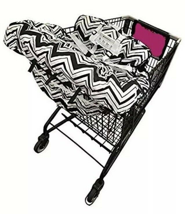 New! Baby High Chair Grocery Shopping Cart Cover Safety Harness Safe Low Ship!!