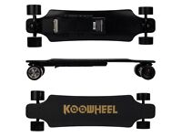 Koowheel 2nd Gen (latest version) Electric Skateboard, Motorised Boosted Board, 45 km/h Top Speed