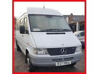 Mercedes-Benz SPRINTER 410D + TWIN WHEELS + LWB + HIGH ROOF MINIBUS