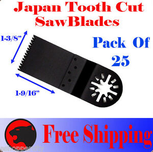 25-Japan-Tooth-Cut-Oscillating-MultiTool-Saw-Blade-For-Fein-Multimaster-Bosch
