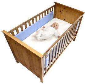 Safe dreams Cotbed wrap