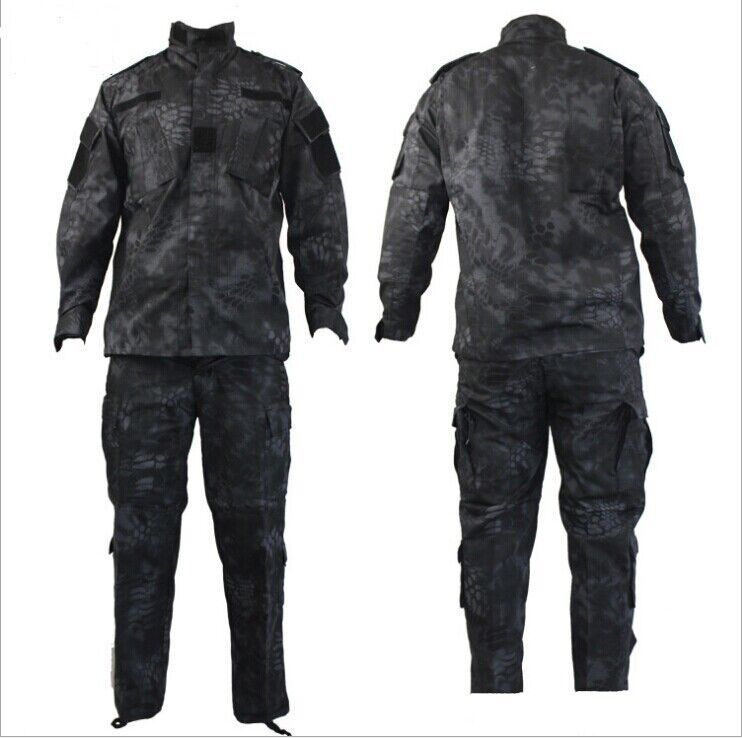 Airsoft Mens Tactical Jacket Pants Army Military Combat Uniform Suits Camouflage