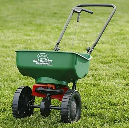 Easy Grass Seeds Planting Broadcast Spreader Lawn Care Turf Growing Light Weight