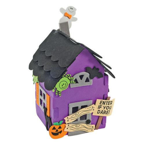 "3D Halloween Haunted House Craft Kit 4"" x 6"" ABCraft"