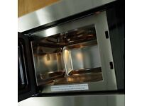 Cooke and Lewis Integrated microwave/grill