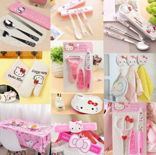 Hello Kitty Kitchen Tool Gadgets Kit Tableware Peeler Knife