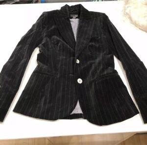 Velvet H&M Jacket Stripe Coat Winter Windsor Stonnington Area Preview