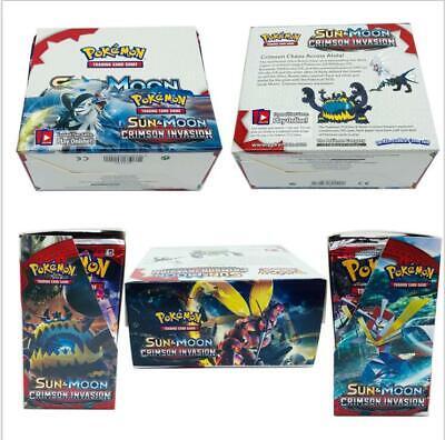324 pcs pocket Monster TCG Booster Box English Edition Break Point 36 packs card