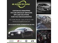 VW AUDI SPECIALIST FIXED PROCE SERVICING - TUNING REMAPPING VCDS VAG COM DIAGNOSTICS REPAIR CODING