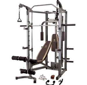 Smith Machine Combo with Weights