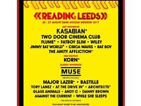 Reading weekend ticket 2017