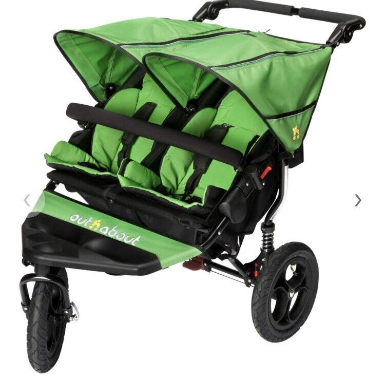 Baby pram Out 'N' About Nipper 360 Double new